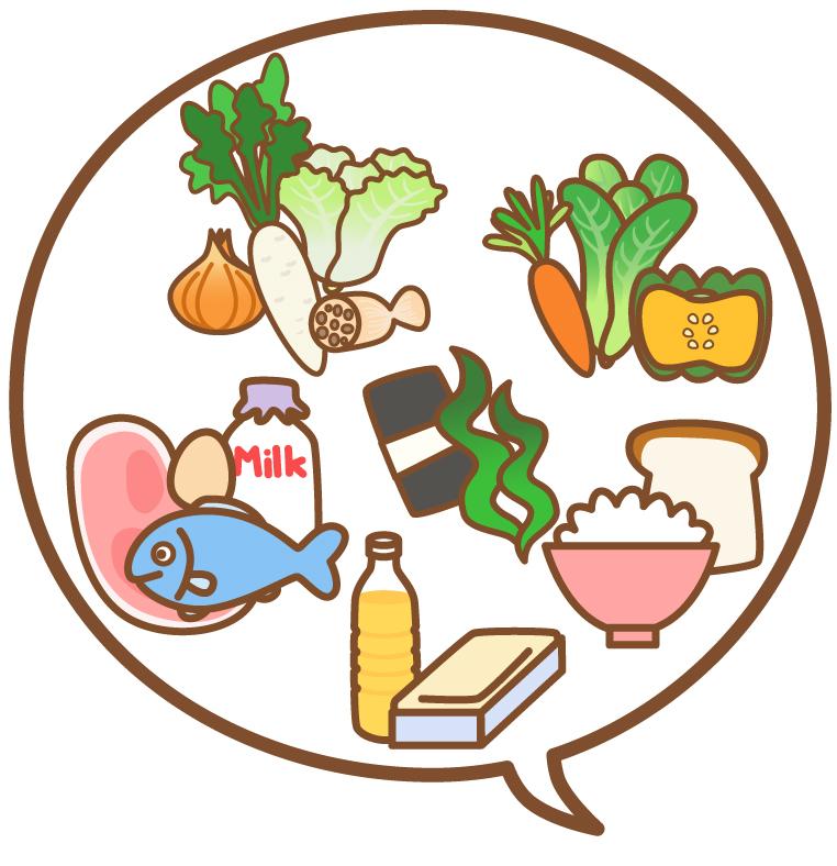 5つの栄養素